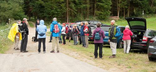 2 HJW-Spuren 9-2019 Start Wanderparkplatz