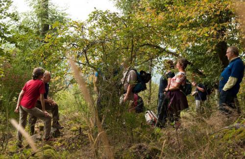 25 HJW-Spuren 9-2019 Walter erklärt die Kelten